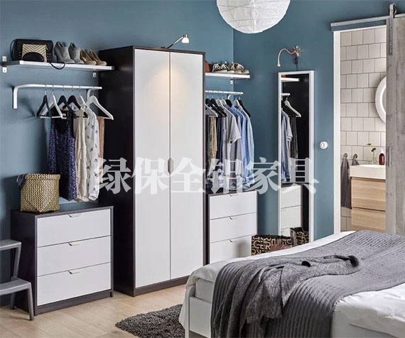 All aluminum bed