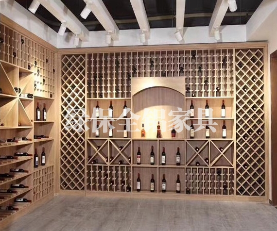All aluminum wine cabinet