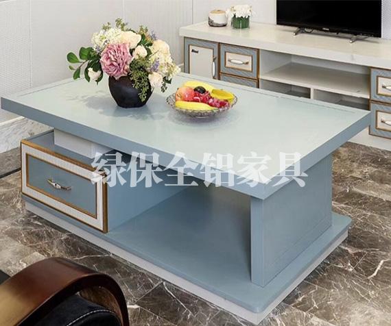 All aluminum table