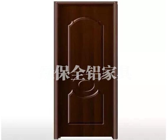 All aluminum door